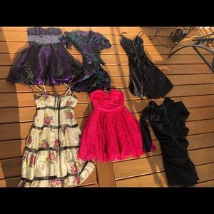 Betsey Johnson. 14 dresses 2 tops.  Size 4-8